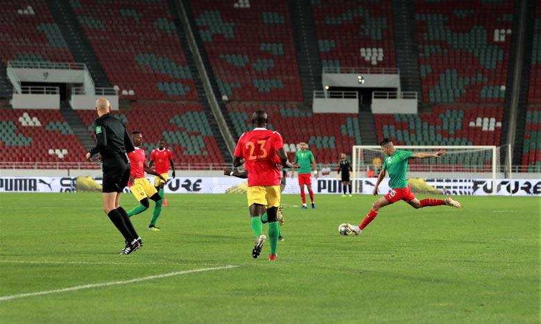 Match amical: Les joueurs locaux s'imposent face à la Guinée