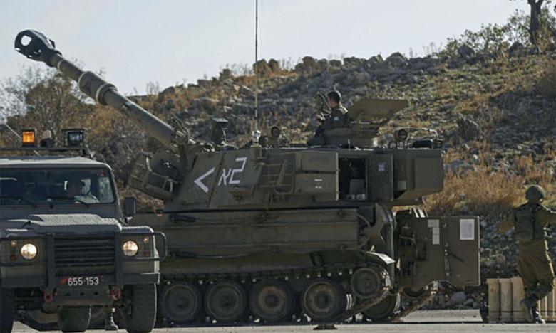 Israël revendique des frappes de «grande ampleur»