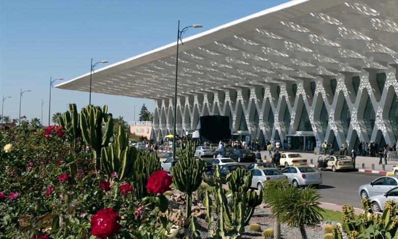 Aéroport Marrakech-Menara : Nette progression du trafic aérien à fin octobre 2019