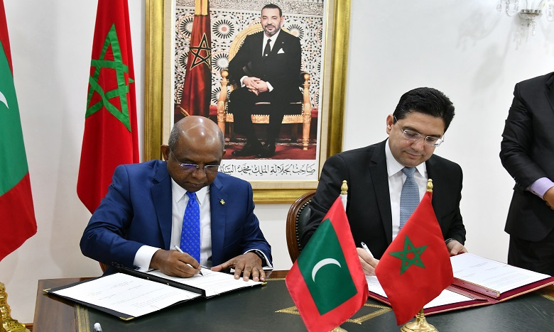 Le Maroc et les Maldives signent 4 accords de coopération bilatérale