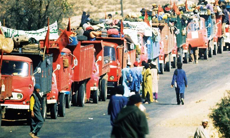 La Marche Verte, une épopée gravée en lettres d'or dans l'histoire contemporaine du Maroc