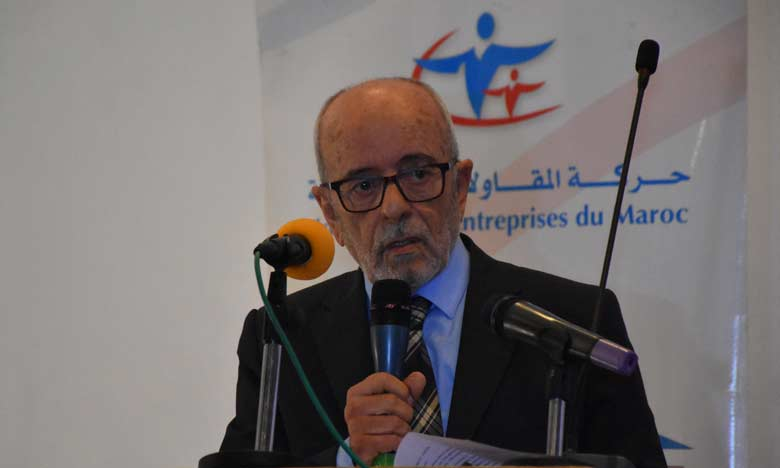 Ahmed Bouzidi, président du Mouvement des Entreprises du Maroc. Ph. Sradni