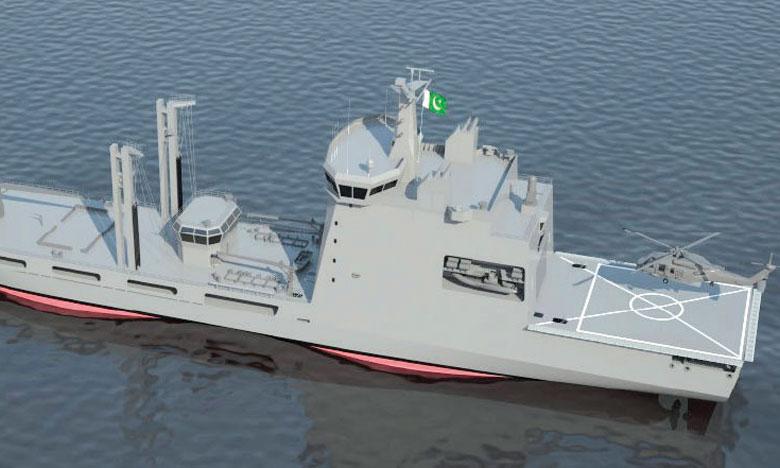 Escale de deux navires  de la marine pakistanaise