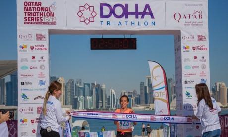 Doha: coup d'envoi du tournoi local de triathlon sponsorisé par RAM