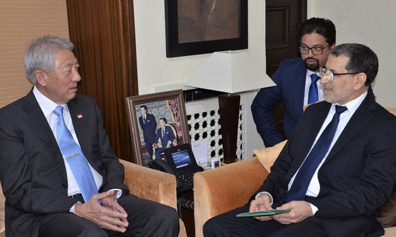 Le Maroc et Singapour réaffirment leur volonté commune de promouvoir la coopération bilatérale dans divers domaines