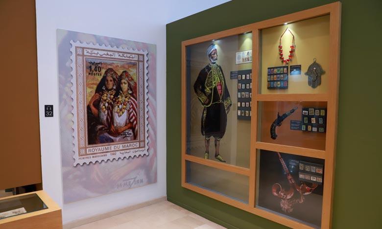 Ce musée retrace l'histoire de la poste au Maroc dont les premiers services ont vu le jour en 1892, sous le règne du Sultan Moulay Hassan Premier. Ph : MAP
