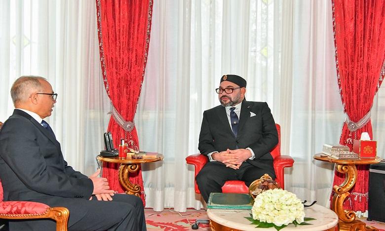 Sa Majesté le Roi Mohammed VI reçoit à Rabat M. Chakib Benmoussa et le charge de la présidence de la Commission spéciale sur le modèle de développement