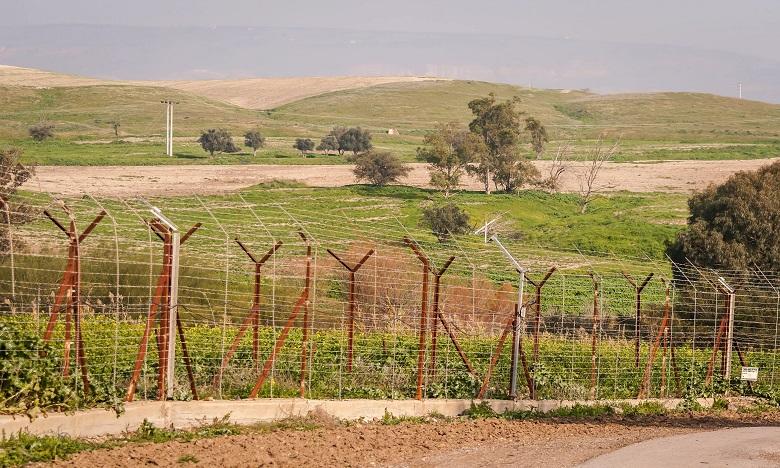 Baqoura est une zone de quelque six kilomètres carrés située près du fleuve Jourdain, sur la partie nord de la frontière israélo-jordanienne. Ph. DR
