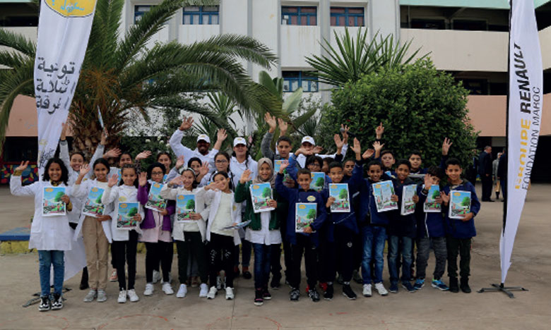 La Fondation Renault Maroc lance la 6e campagne de «Tkayes School»