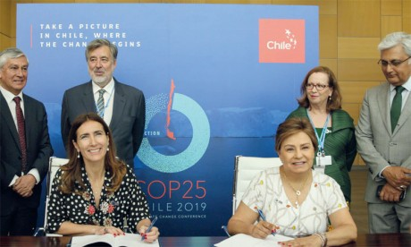COP 25 : le Chili conserve la présidence