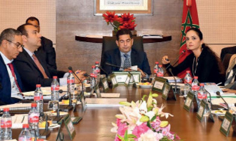 Le conseil s'est tenu sous la présidence du ministre de l'Éducation nationale de la formation  professionnelle de l'Enseignement supérieur et de la recherche scientifique, Saaïd Amzazi.                   Ph. DR