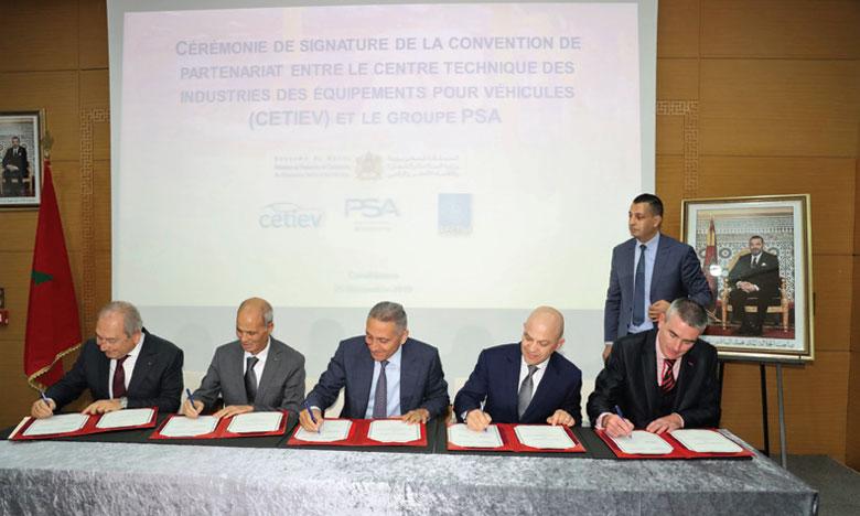 Le groupe PSA renforce sa R&D au Maroc