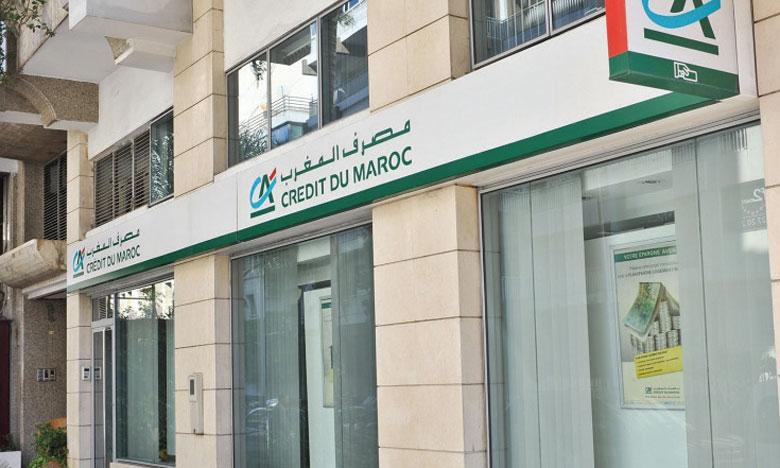 Les filiales du Crédit du Maroc ont amélioré leur contribution au résultat consolidé de 22% à 59,6 millions de DH.
