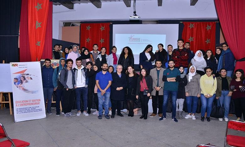 4.000 étudiants marocains provenant des classes préparatoires ont profité de la 13e édition de la caravane de l'AMGE.