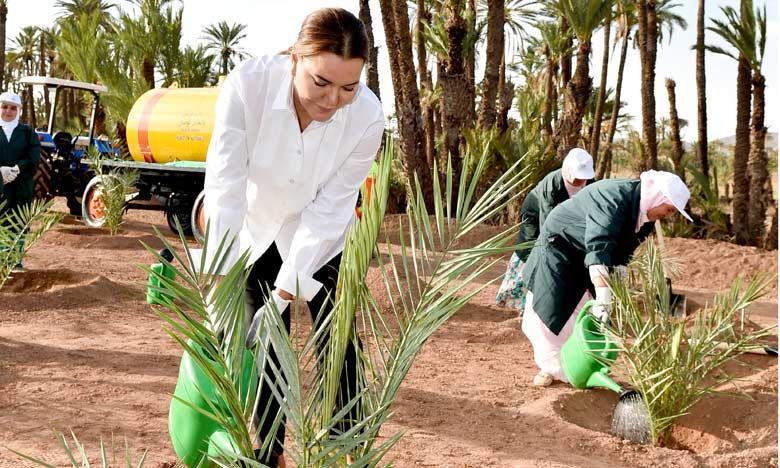 Le peuple marocain célèbre l'anniversaire de S.A.R.  la Princesse Lalla Hasnaa