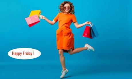 Le Happy Friday au Morocco Mall, c'est aussi une ambiance gaie et divertissante et des cadeaux sublimes. Ph. DR