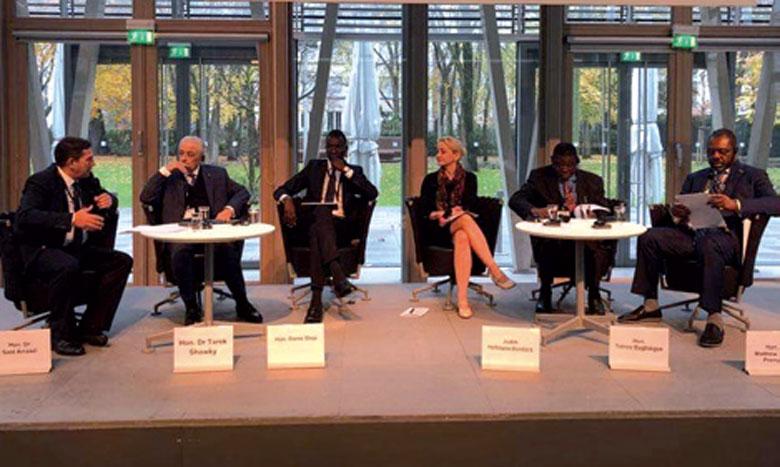 Saaïd Amzazi présente à Berlin  les grandes lignes du projet des  «Cités des métiers et des compétences»