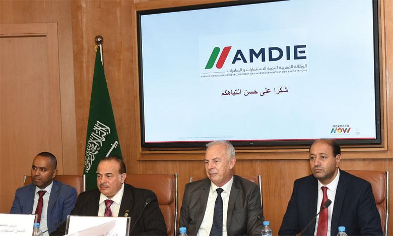 Le Conseil d'affaires maroco-saoudien a tenu une réunion hier au siège de la CGEM à Casablanca. Ph. Saouri