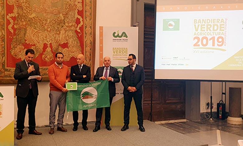 Agriculture : L'entreprise Green Solutions récompensée à Rome