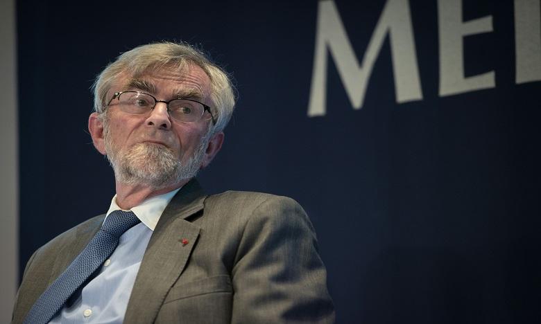 Professeur, Frédéric Jenny.  Ph. AFP