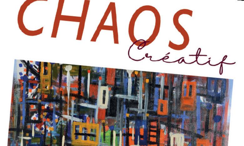 Le « Chaos créatif» de Jean-Numa Caux avec  un clin d'œil à sa ville natale, Marrakech