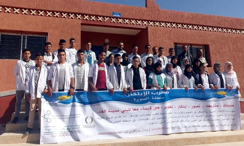 La compétition de l'étape d'Essaouira permet aux porteurs de projets et d'idées de démontrer le potentiel de leurs idées innovantes devant un jury d'experts marocains. Ph : DR