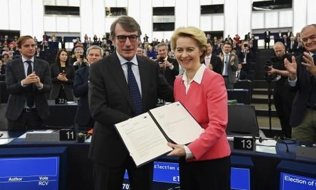 Le Parlement européen donne son feu vert à la Commission von der Leyen