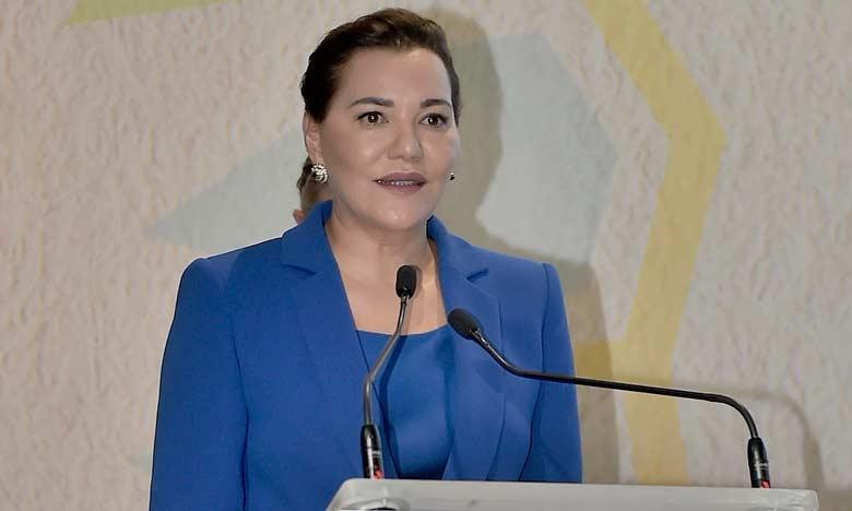 S.A.R. la Princesse Lalla Hasnaa préside à Bouknadel la cérémonie de remise des trophées Lalla Hasnaa du