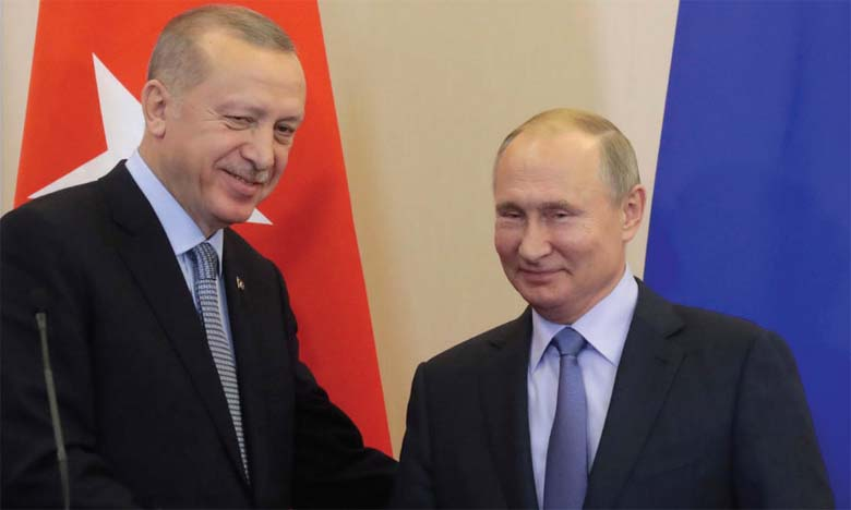 Début des patrouilles  turco-russes