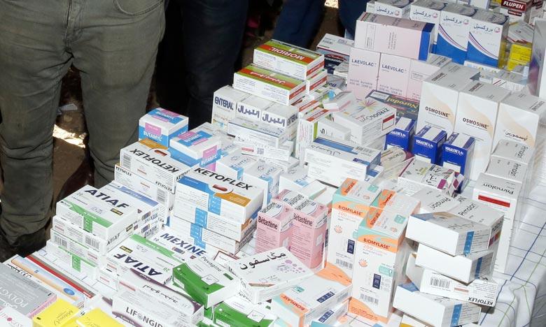 La campagne médicale vise à fournir des services médicaux dans plusieurs spécialités au profit des habitants de Laâyoune et sa région. Ph : MAP
