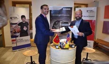 TIBU Maroc signe une convention de partenariat avec STEM Sports USA