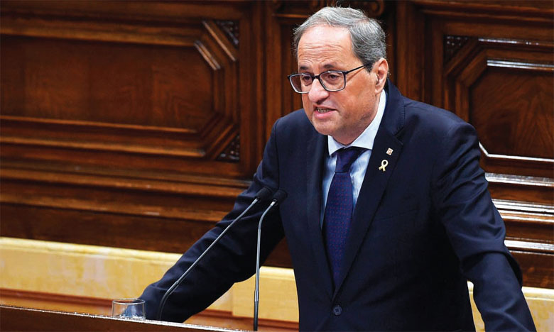 Le président indépendantiste catalan jugé pour désobéissance