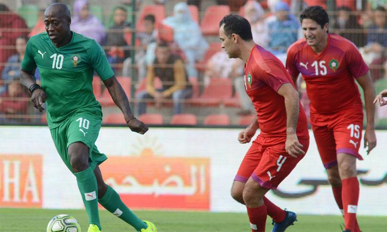 Samuel Eto'o mène les stars africaines  à la victoire