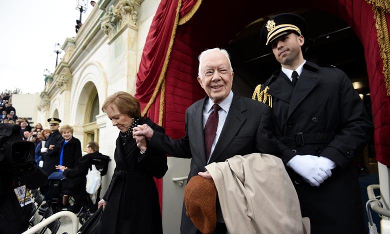 Jimmy Carter, le 39e président des Etats-Unis, a vécu plus longtemps que tout autre ancien président de l'histoire du pays. Ph :  AFP