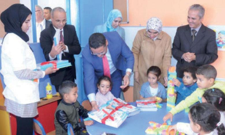 Une campagne pour le développement de la petite enfance