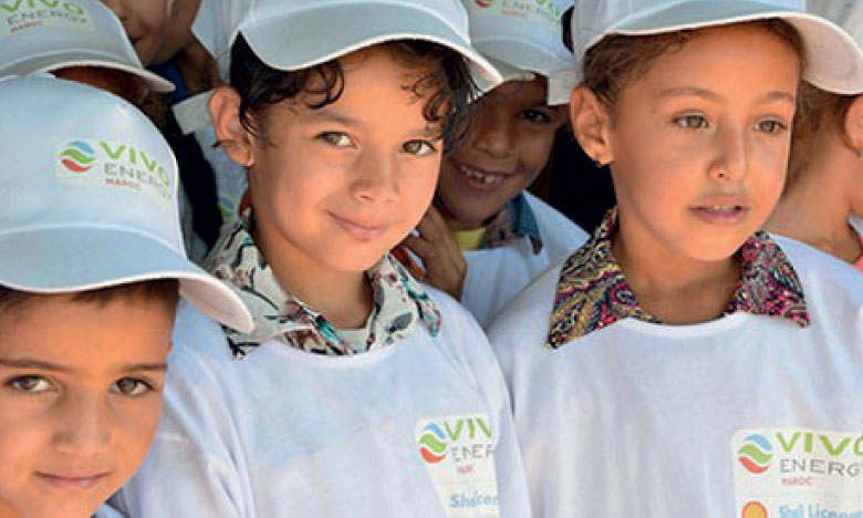 Réinsertion scolaire : Vivo Energy Maroc dresse  le bilan de sa première expérience