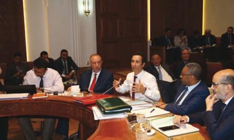 Les parlementaires accélèrent l'action législative  en vue d'adopter le texte dans sa globalité