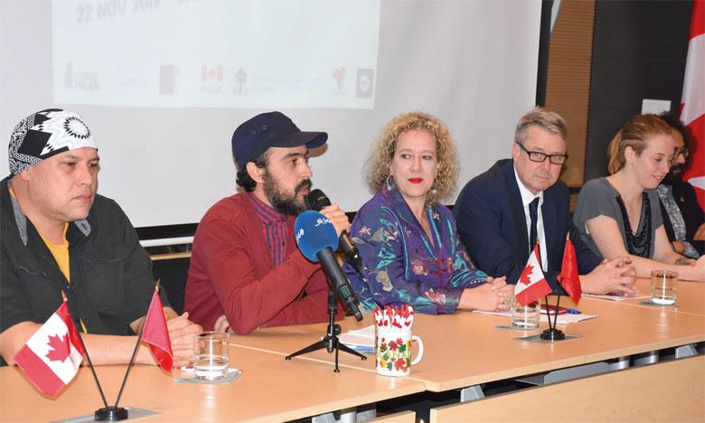 L'artiste canadien Shauit et le groupe Wachmn'hit de Kénitra ont présenté mercredi dernier le fruit de leur collaboration.