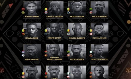 Ziyech et Hakimi nominés pour le titre de meilleur joueur africain de l'année