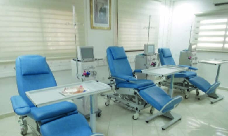 Au quartier Salam, un centre d'hémodialyse, financé par l'Initiative  nationale pour le développement humain, a été inauguré.