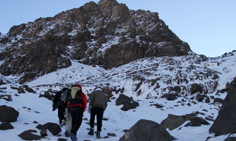 La DMN prévoit pour la journée de ce samedi, de chutes de neige à partir de 1300m sur les reliefs de l'Atlas et les Hauts plateaux orientaux. Ph : DR