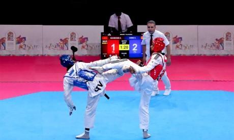 Tournoi Grand Slam de Taekwondo : Médaille de bronze pour Achraf Mahboubi