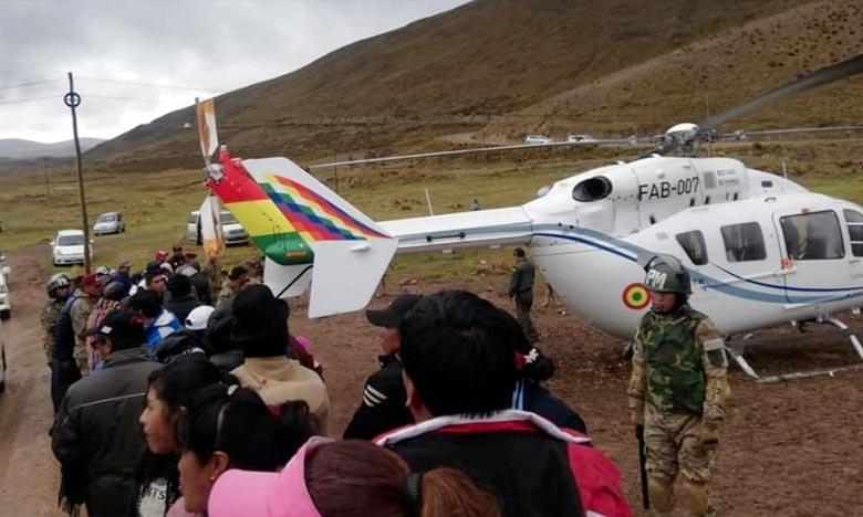 L'appareil EC-145 a présenté une défaillance mécanique du rotor anti-couple lors du décollage, raison pour laquelle il a effectué un atterrissage d'urgence. Ph : DR