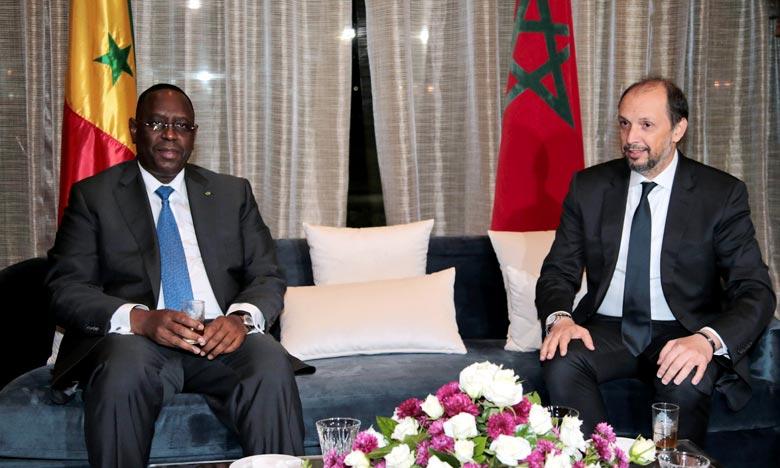 Le Président sénégalais Macky Sall s'est dit heureux d'être à Tanger dans le cadre du Forum MEDays organisé par l'Institut Amadeus. Ph : MAP