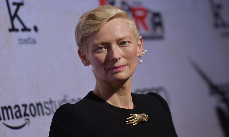 Le juru du 18e Festival International du Film de Marrakech sera présidé par l'actrice écossaise Tilda Swinton. Ph. AFP
