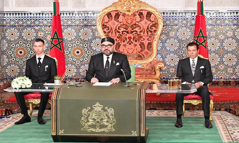 Sa Majesté le Roi appelle à une réflexion sérieuse sur l'établissement d'une liaison ferroviaire entre Marrakech et Agadir, en envisageant la perspective d'une extension ultérieure au reste des provinces du Sud