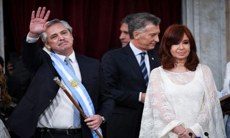 «On ne peut pas avoir des Argentins de premier degré et des Argentins de deuxième degré», a indiqué le nouveau chef d'Etat. Ph: DR