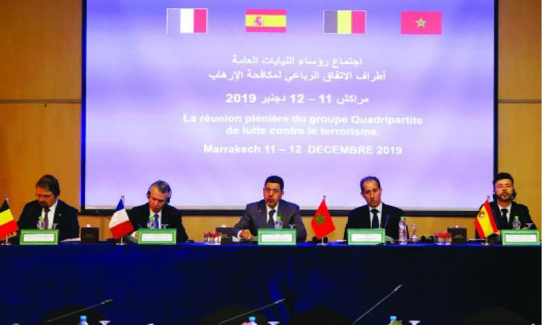 Les Parquets membres de l'Accord quadripartite déterminés à élever le niveau de leur performance pour mettre un terme à la criminalité terroriste