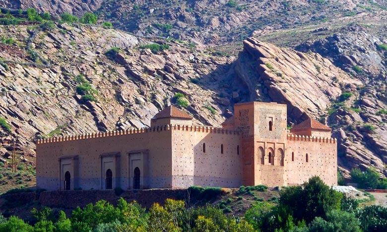 La mosquée de Tinmel des Almohades, situé dans le Haut Atlas occidental, fait partie des quatre sites marocains inscrits à la liste. Ph : DR