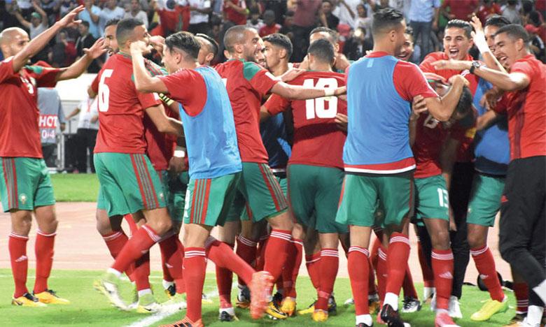 Les Lions de l'Atlas terminent l'année 2019 à la 43e place mondiale